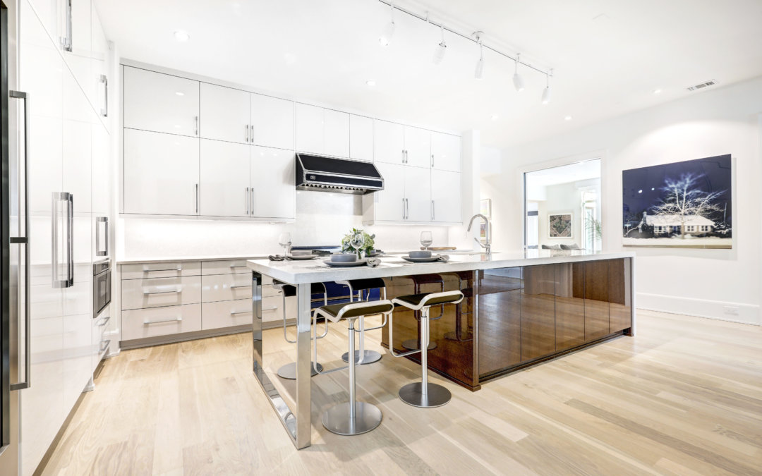Sleek Modern Kitchens